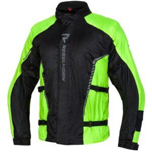 kurtka-przeciwdeszczowa-rebelhorn-patrol-żółta-czarna-odzież-motocyklowa-warszawa-monsterbike-pl