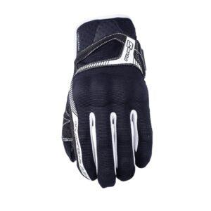rękawice-motocyklowe-five-rs3-czarne-białe-odzież-motocyklowa-warszawa-monsterbike-pl