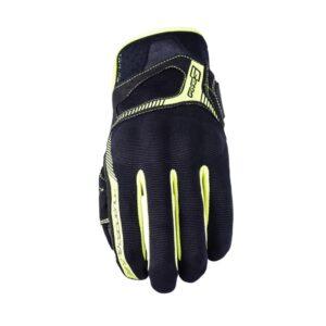 rękawice-motocyklowe-five-rs3-czarne-fluo-żółte-odzież-motocyklowa-warszawa-monsterbike-pl