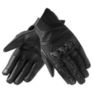 rękawice-motocyklowe-rebelhorn-patrol-short-czarne-odzież-motocyklowa-warszawa-monsterbike-pl