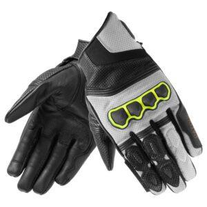 rękawice-motocyklowe-rebelhorn-patrol-short-czarne-szare-odzież-motocyklowa-warszawa-monsterbike-pl