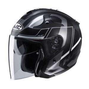 kask-motocyklowy-otwarty-hjc-fg-jet-komina-black-grey-odzież-motocyklowa-warszawa-monsterbike-pl