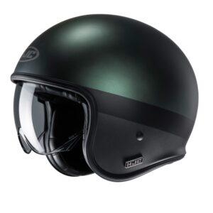kask-motocyklowy-otwarty-hjc-v30-perot-black-green-kaski-motocyklowe-warszawa-monsterbike-pl