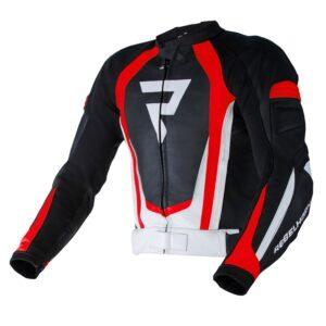 kurtka-motocyklowa-skórzana-rebelhorn-piston-ii-pro-czarna-biała-fluo-czerwona-odzież-motocyklowa-warszawa-monsterbike-pl