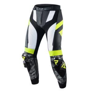spodnie-motocyklowe-rebelhorn-rebel-czarne-białe-fluo-żółte-odzież-motocyklowa-warszawa-monsterbike-pl