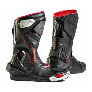 buty-motocyklowe-rebelhorn-piston-ii-ce-czarne-fluo-czerwone-odzież-motocyklowa-warszawa-monsterbike-pl