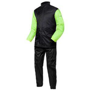 dwuczęściowy-kombinezon-przeciwdeszczowy-rebelhorn-rain-czarny-fluo-żółty-odzież-motocyklowa-warszawa-monsterbike-pl