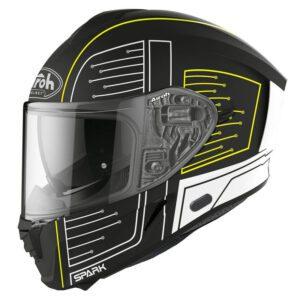 kask-airoh-spark-cyrcuit-black-matt-kaski-motocyklowe-warszawa-monsterbike-pl