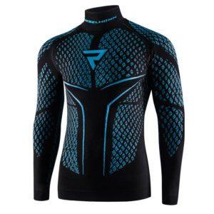 koszulka-termoaktywna-z-długim-rękawem-rebelhorn-therm-ii-czarna-niebieska-odzież-termoaktywna-warszawa-monsterbike-pl