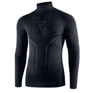 koszulka-termoaktywna-z-długim-rękawem-rebelhorn-therm-ii-czarna-szara-odzież-termoaktywna-warszawa-monsterbike-pl