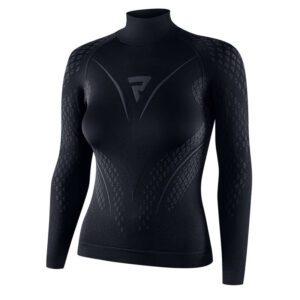 koszulka-termoaktywna-z-długim-rękawem-rebelhorn-therm-ii-lady-czarna-szara-odzież-termoaktywna-warszawa-monsterbike-pl