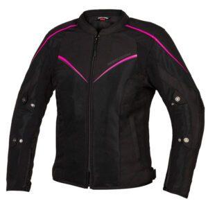 kurtka-motocyklowa-tekstylna-rebelhorn-hiflow-iv-lady-czarna-fluo-rożowa-odzież-motocyklowa-warszawa-monsterbike-pl