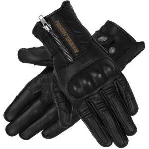 rękawice-rebelhorn-hunter-czarne-odzież-motocyklowa-warszawa-monsterbike-pl