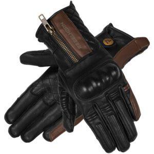 rękawice-rebelhorn-hunter-lady-vintage-brązowe-odzież-motocyklowa-warszawa-monsterbike-pl