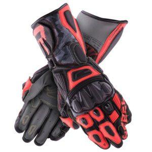 rękawice-rebelhorn-rebel-czarne-camo-fluo-czerwone-odzież-motocyklowa-warszawa-monsterbike-pl