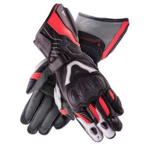 rękawice-rebelhorn-rebel-lady-czarne-białe-fluo-czerwone-odzież-motocyklowa-warszawa-monsterbike-pl