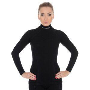 bluza-termoaktywna-damska-brubeck-extreme-wool-czarna-odzież-motocyklowa-warszawa-monsterbike-pl
